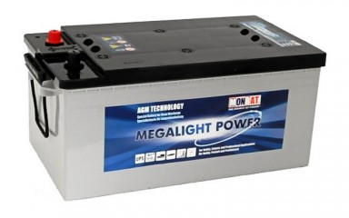 Аккумулятор Monbat Megalight Power ML 220C AGM (220Ачас/12В)
