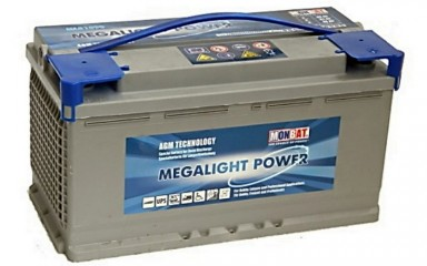 Аккумулятор Monbat Megalight Power ML 81090 AGM (90Ачас/12В)